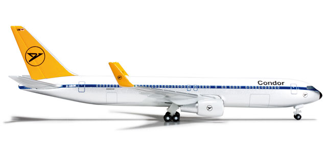 Condor 767-300 (1:500) Retrojet D-ABUM, Herpa 1:500 Scale Diecast Airliners Item Number HE523974