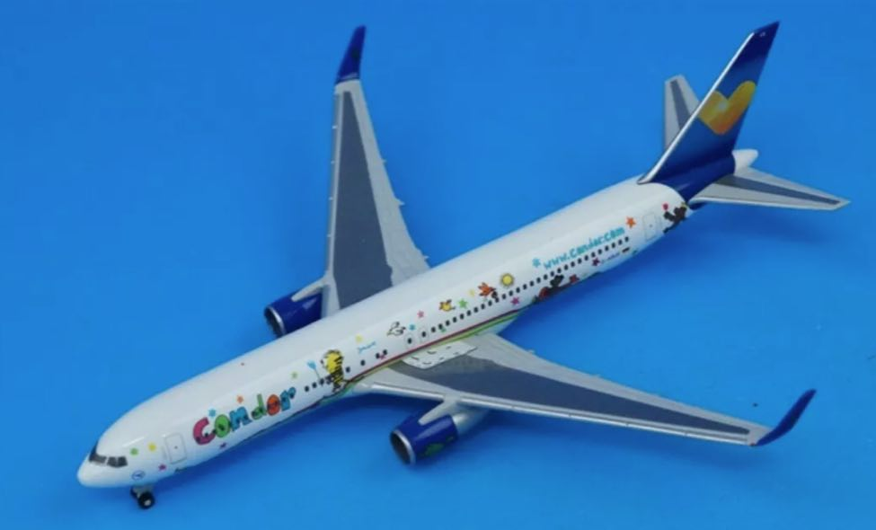 "Condor 767-300 (1:500) ""Janosch"", Herpa 1:500 Scale Diecast Airliners Item Number HE524704"