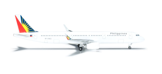 Philippine A321 (1:500) W/SHARKLETS, Herpa 1:500 Scale Diecast Airliners Item Number HE526340
