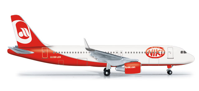 Fly Niki A320 (1:500) with Sharklets