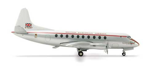 Bea Viscount 701 (1:200), Herpa 1:200 Scale Diecast Airliners Item Number HE553131