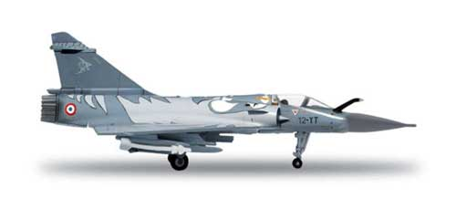 French Air Force Mirage 2000C Ec 1/12 Tiger Meet (1:200), Herpa 1:200 Scale Diecast Airliners Item Number HE554121