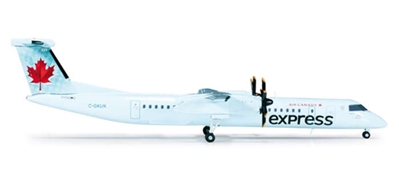 Air Canada Express Dash-8 Q400 (1:200), Herpa 1:200 Scale Diecast Airliners Item Number HE554626