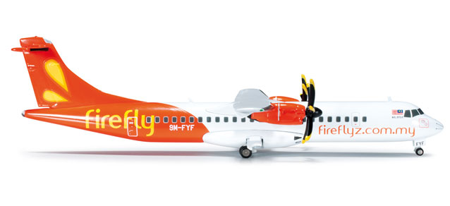 Firefly ATR-72-500 (1:200), Herpa 1:200 Scale Diecast Airliners Item Number HE555197