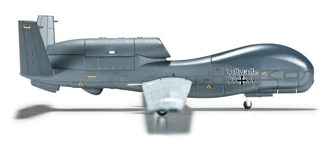 Luftwaffe RQ-4B Global Hawk (1:200), Herpa 1:200 Scale Diecast Airliners Item Number HE555340