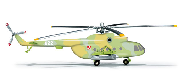 Mil MI-8T, Poland Army Aviation, 25th Air Cavalry Brigade, 37th Air Squadron (1:200)