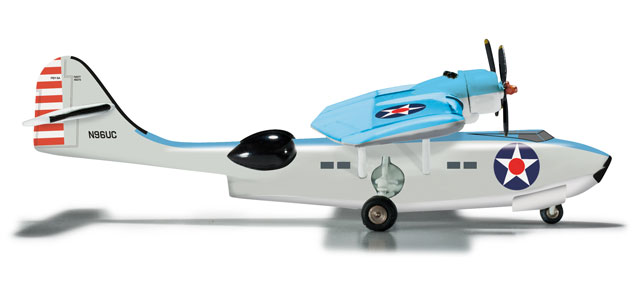 USN PBY-5A Catalina, Fantasy of Flight Museum (1:200), Herpa 1:200 Scale Diecast Airliners Item Number HE555661