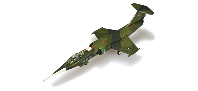Luftwaffe F-104G Starfighter,  Jabog 34 (1:200), Herpa 1:200 Scale Diecast Airliners Item Number HE555678