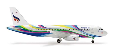"Bangkok A319 ""Hiroshima"" (1:400), Herpa 1:400 Scale Diecast Airliners Item Number HE562157"