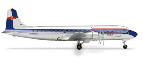Flying Bulls DC-6B (1:400), Herpa 1:400 Scale Diecast Airliners Item Number HE562249