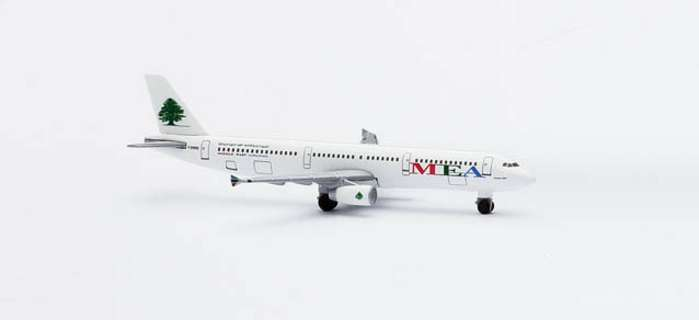 Middle East A321 (1:500), Herpa 1:500 Scale Diecast Airliners Item Number HE508711