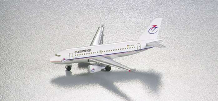 Eurowings A319 (1:500), Herpa 1:500 Scale Diecast Airliners Item Number HE508926