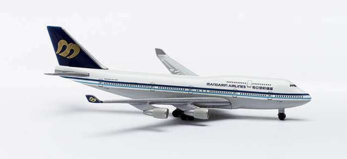 Mandarin B747-400 (1:500), Herpa 1:500 Scale Diecast Airliners Item Number HE511261