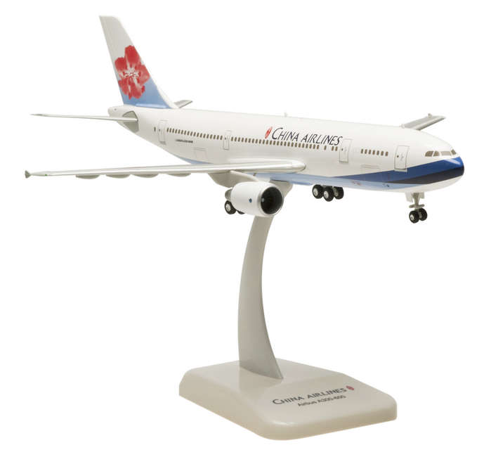 China Airlines A300-600R (1:200) with Gear B-18503, Hogan Wings Collectible Airliner Models Item Number HG0519G