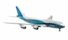 Boeing 747-8 House Colors, Straight Wings, No Stand (1:400)