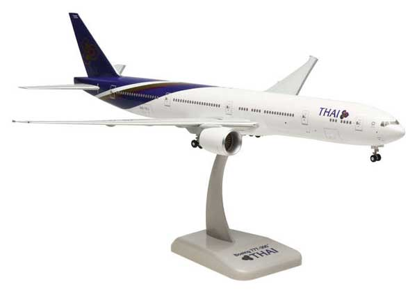 Thai 777-300ER (1:200) W/Gear, Hogan Wings Collectible Airliner Models Item Number HG4173G