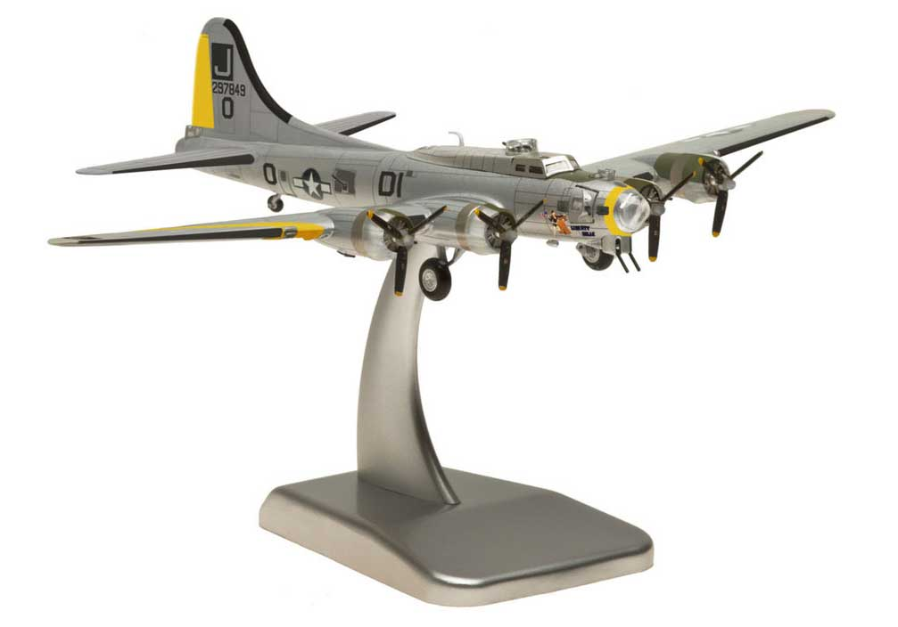 "B-17G USAAF ""Liberty Belle"" (1:200), Hogan Wings Military Airplane Models Item Number HG5965"