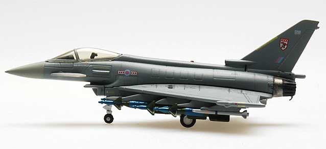 EF2000 RAF No 29 Sqn Frame ZJ921 Tail Bw (1:200), Hogan Wings Collectible Airliner Models Item Number HG6764