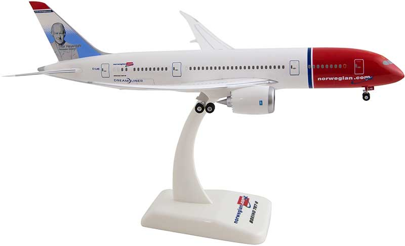 "Norwegian 787-8 ""Thor Heyerdahl"" EI-LNB (1:200), Hogan Wings Collectible Airliner Models Item Number HGAN02"