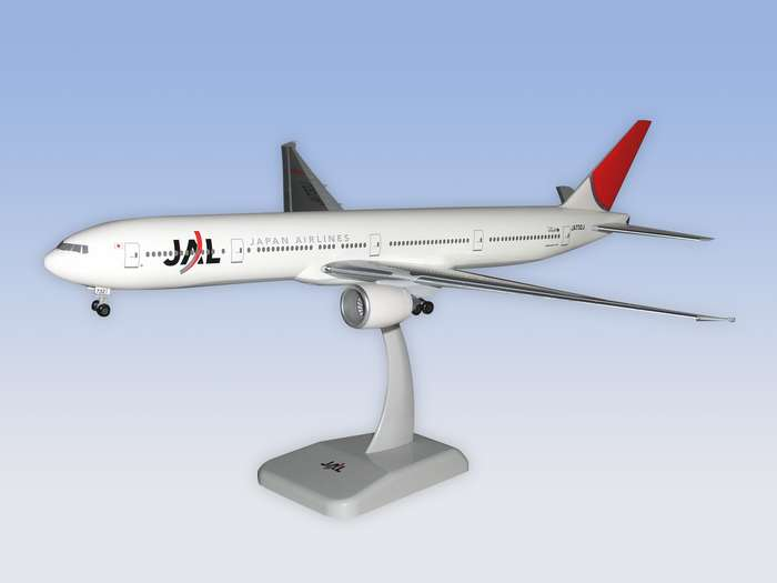 JAL B777-300ER w/gear, New Colors (1:200)