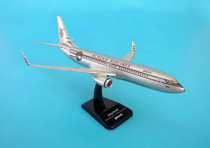 Alaska 737-800W (1:200) 75TH Anniversary, Hogan Wings Collectible Airliner Models Item Number HG1806G