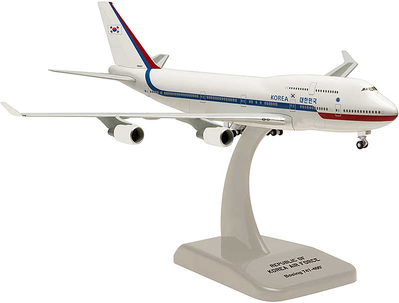 ROKAF 747-400 (1:500) 10001, Hogan Wings Collectible Airliner Models Item Number HG50013