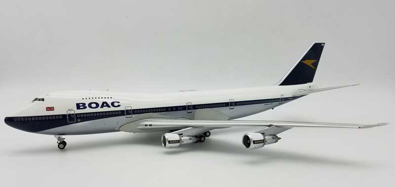 BOAC Boeing 747-100 G-AWNM Polished (1:200), InFlight 200 Scale Diecast Airliners Item Number ARD2054P