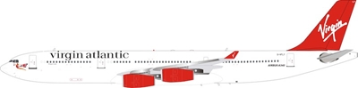 "Virgin Atlantic Airbus A340-300 G-VFLY ""Dragon Lady"" (1:200), InFlight 200 Scale Diecast Airliners Item Number B-340-1116"