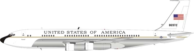 USAF United States Air Force Boeing VC-137B (707-153B) 58-6972 Polished (1:200) - Preorder item, order now for future delivery , InFlight 200 Scale Diecast Airliners, Item Number IF1370118P