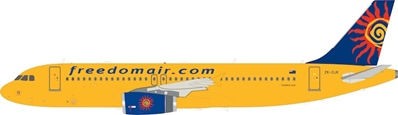 Freedom Air Airbus A320-200 ZK-OJK (1:200), InFlight 200 Scale Diecast Airliners, Item Number IF320SJ0219
