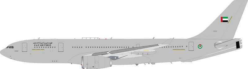 United Arab Emirates Air Force Airbus A330-243(MRTT) 1302 (1:200) - Preorder item, order now for future delivery , InFlight 200 Scale Diecast Airliners, Item Number IF332MRT0518