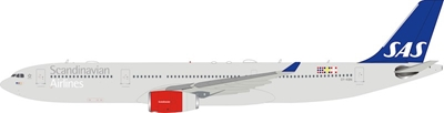 Scandinavian Airlines SAS Airbus A330-343 OY-KBN (1:200) 120 MODELS, InFlight 200 Scale Diecast Airliners, Item Number IF333SK0219