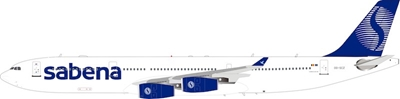 Sabena Airbus A340-300 OO-SCZ (1:200), InFlight 200 Scale Diecast Airliners, Item Number IF343SB0119