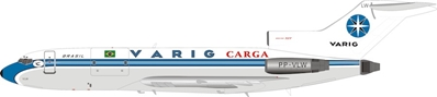 Varig Boeing 727-100 PP-VLW (1:200) by InFlight 200 Scale Diecast Airliners Item Number IF721VR0319B
