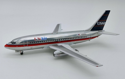 US Air Boeing 737-200 N286AU Polished  (1:200), InFlight 200 Scale Diecast Airliners, Item Number IF732US1218P
