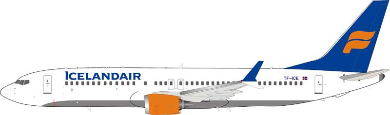 Icelandair Boeing 737-8Max TF-ICE (1:200) - Preorder item, Order now for future delivery