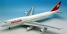 Swissair 747-357 HB-IGD (1:200), InFlight 200 Scale Diecast Airliners Item Number IF7430116