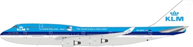 "KLM - Royal Dutch Airlines Boeing 747-400 PH-BFV ""City of Vancouver"" With Stand (1:200)"