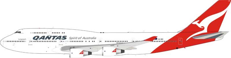 Qantas Boeing 747-400 VH-OEE (1:200) - Preorder item, order now for future delivery, InFlight 200 Scale Diecast Airliners, Item Number IF744QFA0219