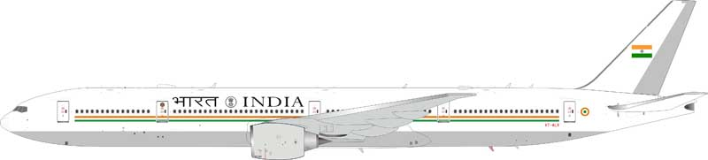India Air Force Boeing 777-300/ER VT-ALV with stand (1:200)