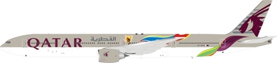 Qatar Airways Boeing 777-300ER A7-BAX (1:200) - Preorder item, order now for future delivery, InFlight 200 Scale Diecast Airliners, IF773QT0119