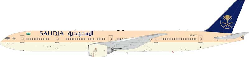 Saudi Arabian Airlines Boeing 777-300ER HZ-AK27 (1:200), InFlight 200 Scale Diecast Airliners Item Number IF77730316B