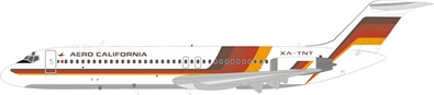 Aero California Douglas DC-9-32 XA-TNT (1:200) by InFlight 200 Scale Diecast Airliners Item Number IF932JR0819