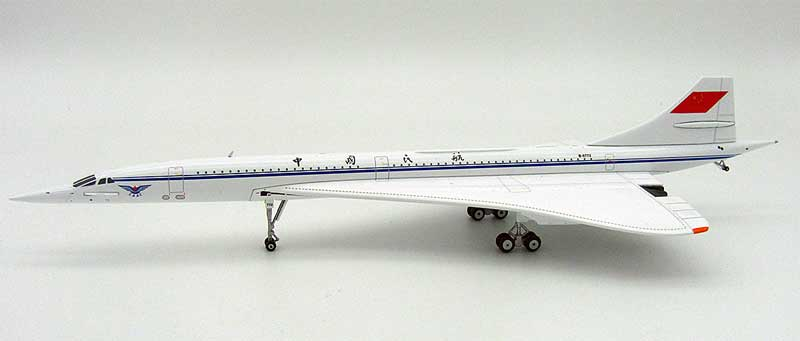 CAAC Concorde B-0772 (1:200), InFlight 200 Scale Diecast Airliners Item Number IFCONCCA001