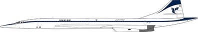"Iran Air Concorde EP-SST ""Fantasy Model"" (1:200) - Preorder item, Order now for future delivery"