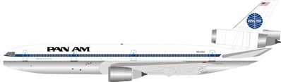 Pan Am McDonnell Douglas DC-10-30 N84NA Polished (1:200)