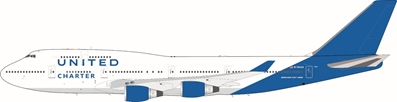 United Charter Boeing 747-400 N194UA (1:200) - Preorder item, Order now for future delivery