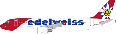 Edelweiss Air Airbus A320-214 HB-IHZ (1:200), InFlight 200 Scale Diecast Airliners, Item Number JF-A320-019