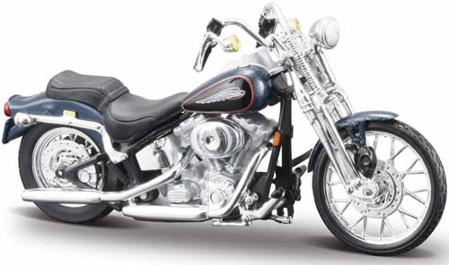Harley Davidson - 2001 FXSTS Springer Softail (1:18), Maisto Diecast Cars Item Number HAS24D