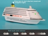 Costa Pullback Cruise Ship, Toytech Item Number TT4753